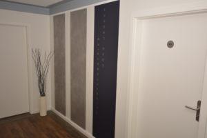Kreative Wand- und Deckengestaltung